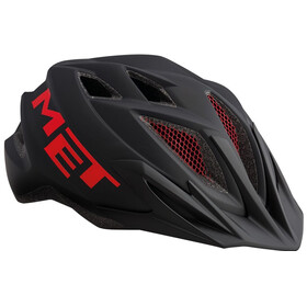 MET Crackerjack Helm black/red